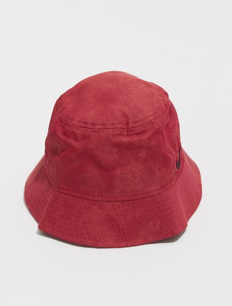 DM8518 661 NIKE NRG SOLO SWOOSH BUCKET HAT IN CEDAR