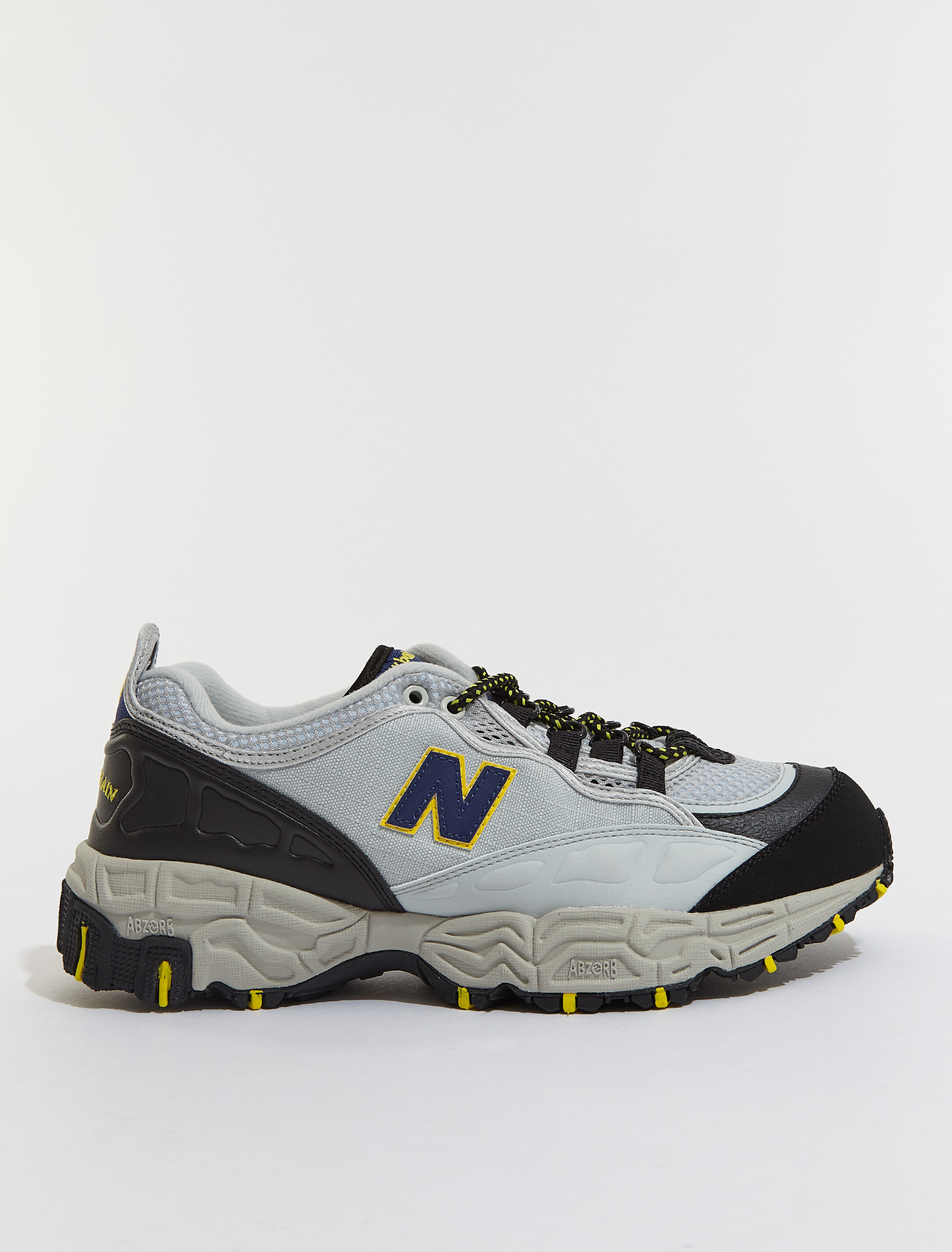 M801 Sneaker in Grey & Black
