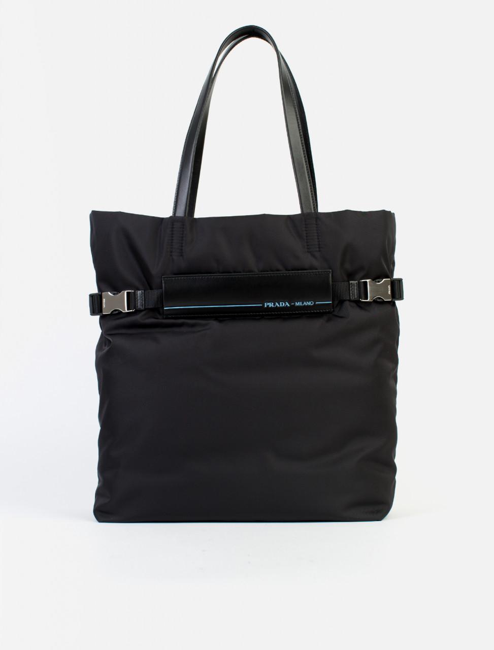 c58a719c5b87 Prada Nylon Tote Bag
