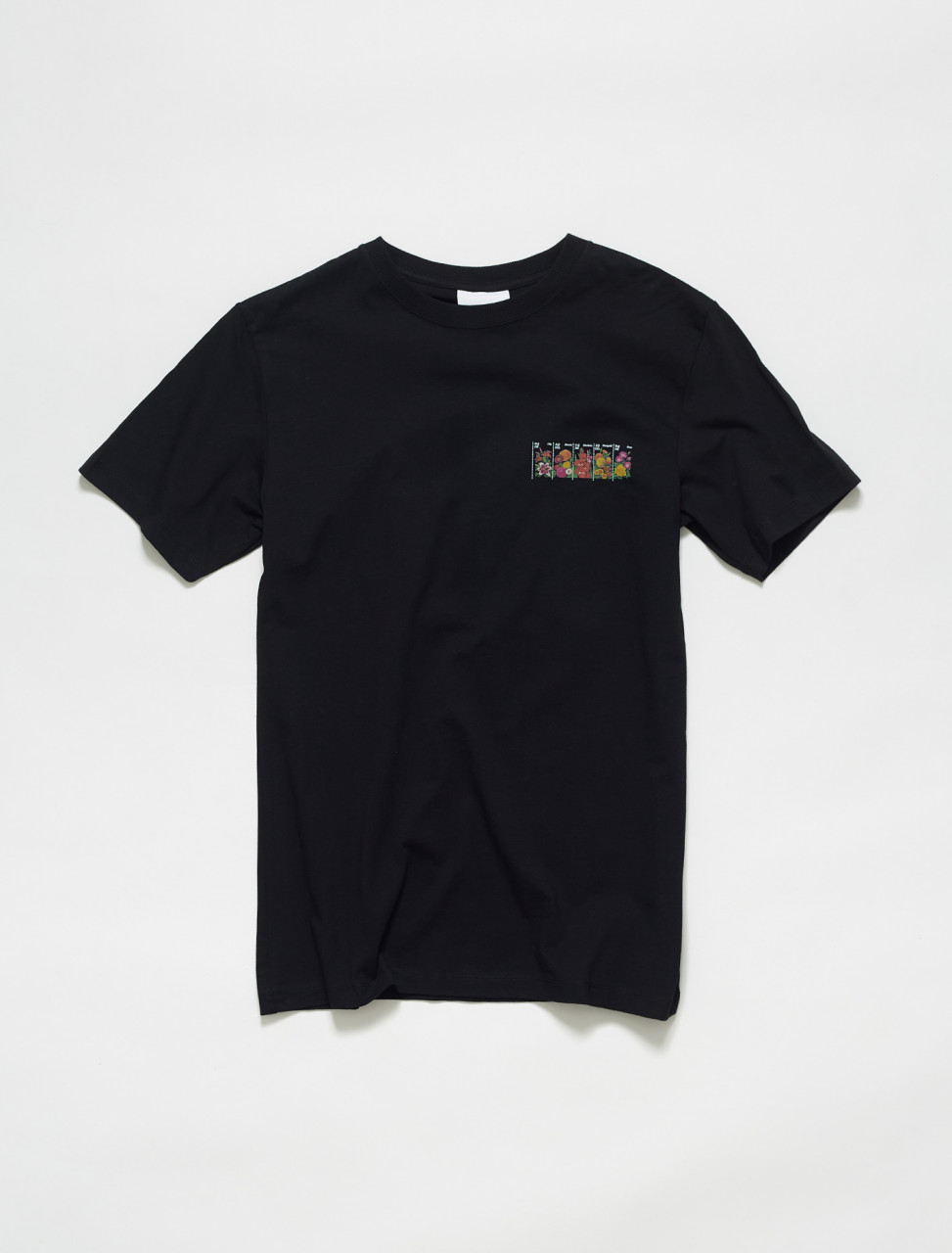 159-1000-B SOULLAND BODEGA ROSE ROSSELL T SHIRT BLACK