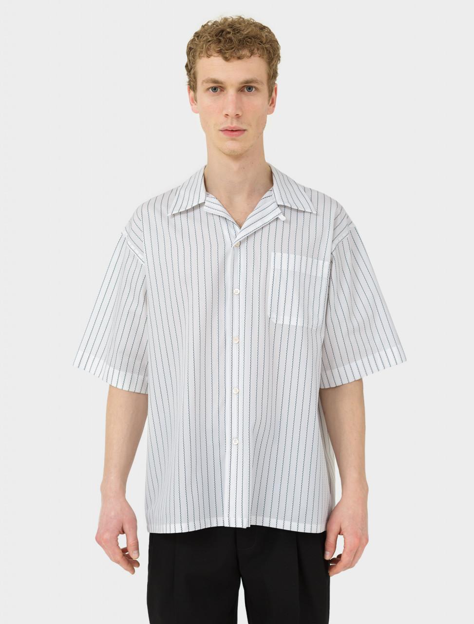Short Sleeve Shirt in White
