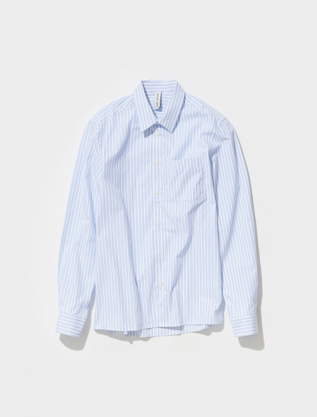 303032_300 ANOTHER ASPECT SHIRT 3.0 IN HOCKNEY STRIPE