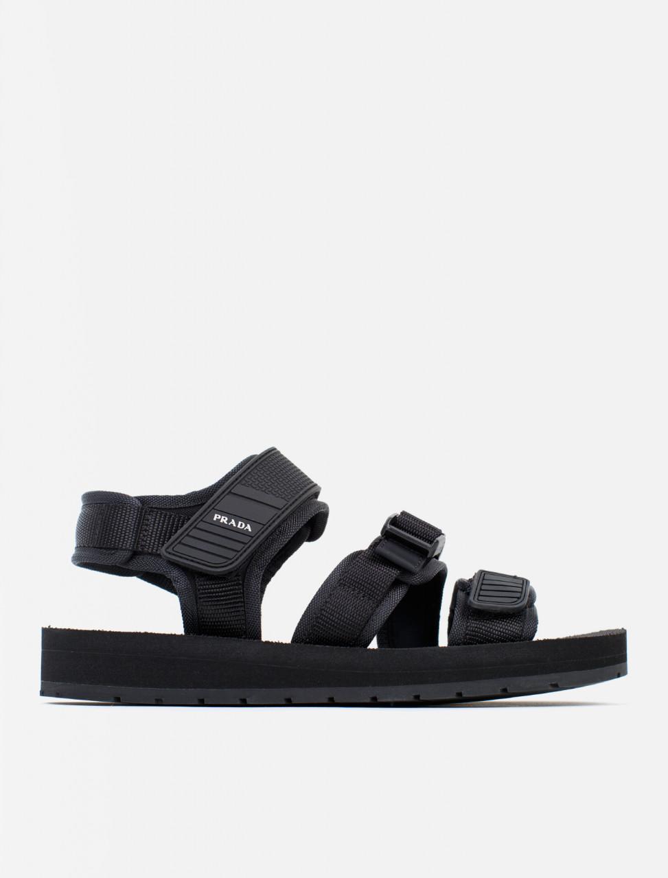 Nylon Tech Strap Sandals