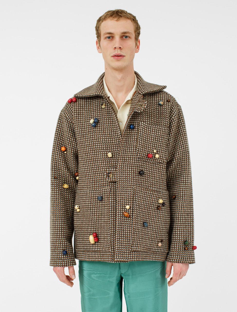 Brick Wool Tab Jacket