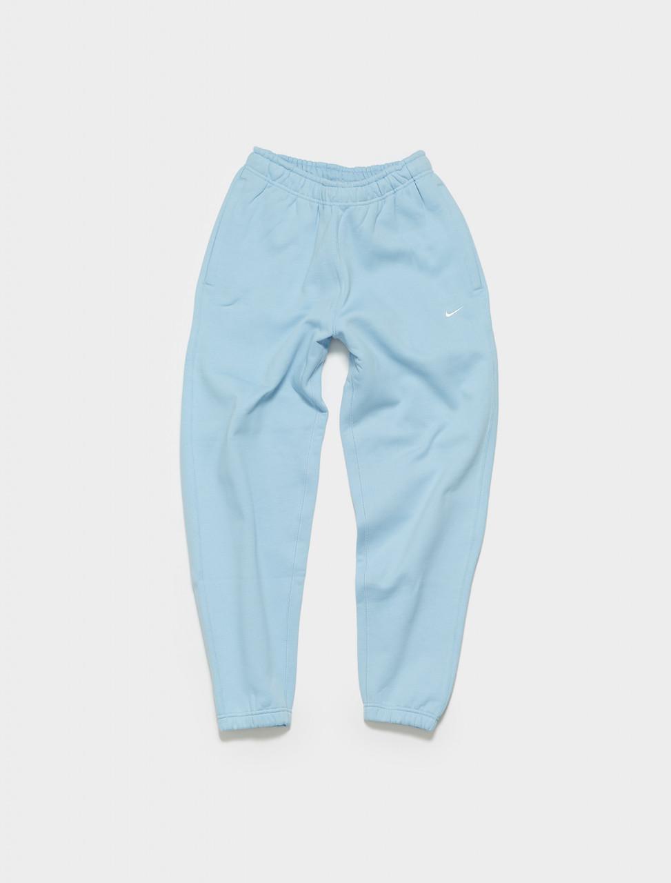 CW5460-436 NIKE NRG SOLO SWOOSH FLEECE PANTS PSYCHIC BLUE