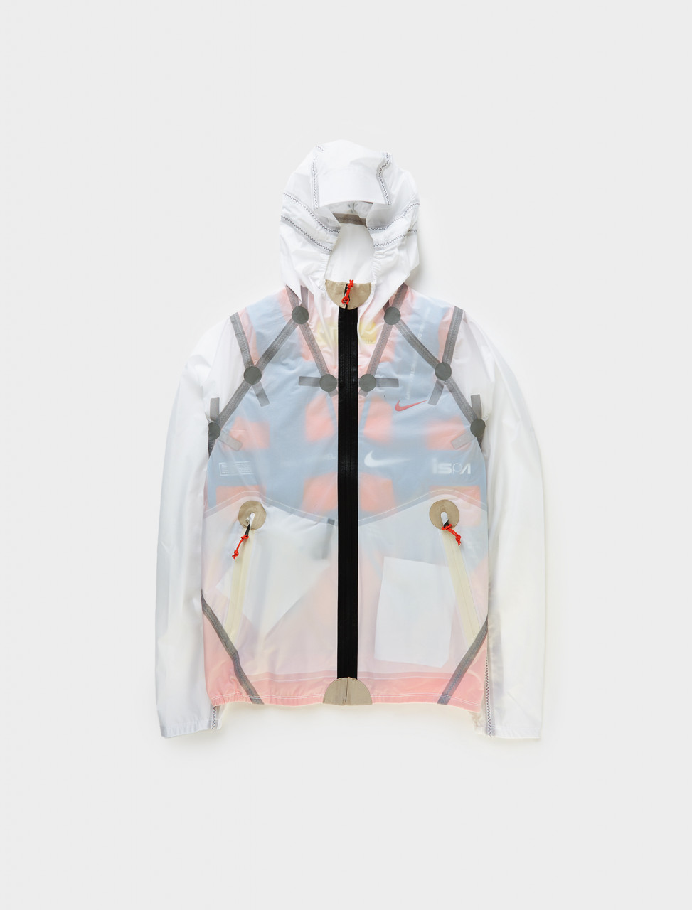 Nike ISPA Weather Resistant 'Inflate' Jacket in White