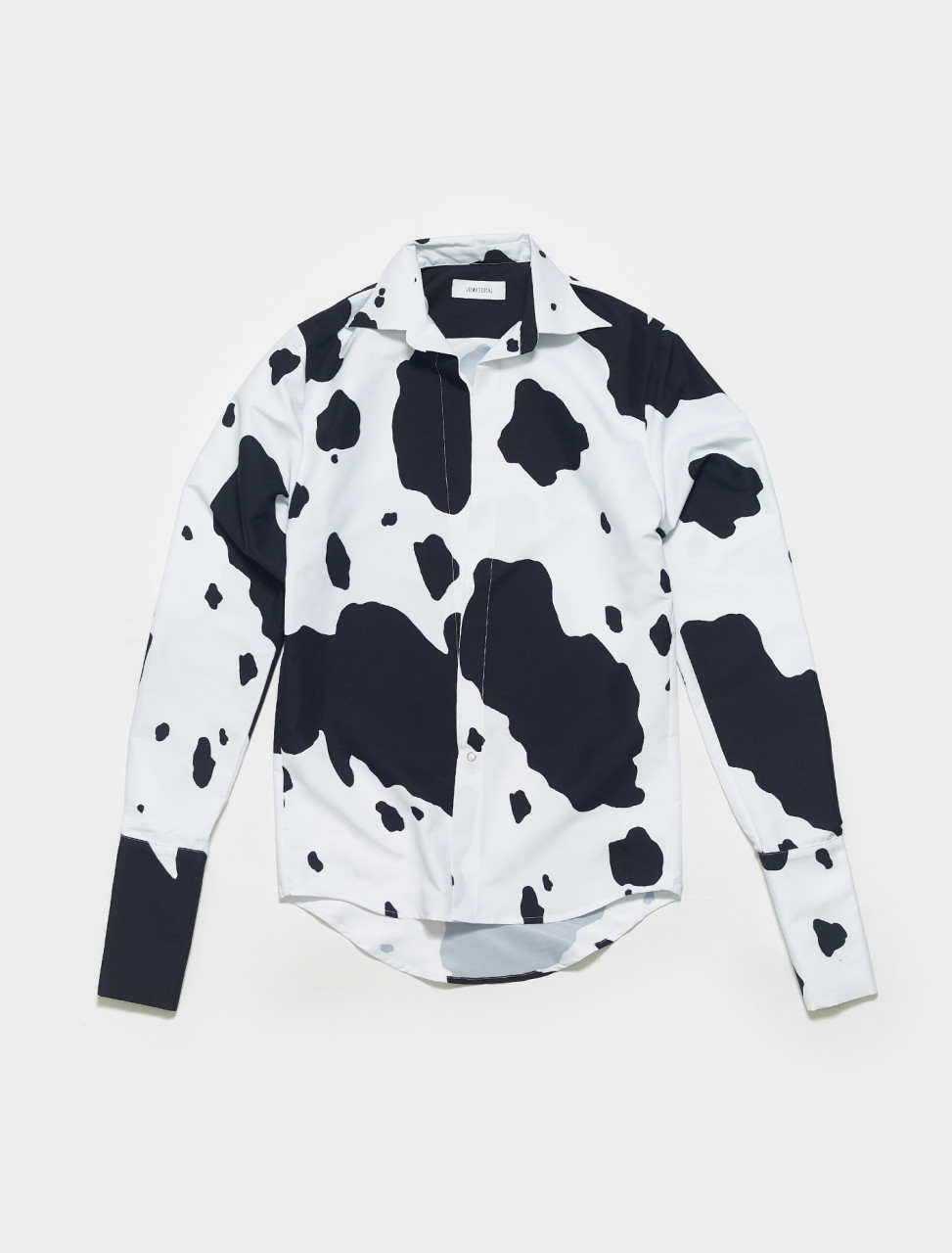 LSSS21-13-COW LAZOSCHMIDL NOBERT SHIRT IN COW PRINT
