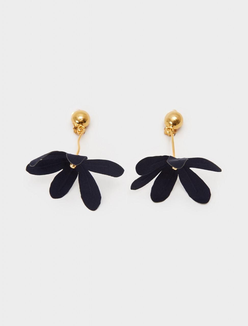137-ORMV0209A0-T2000-00B99 MARNI FLOWER EARRINGS