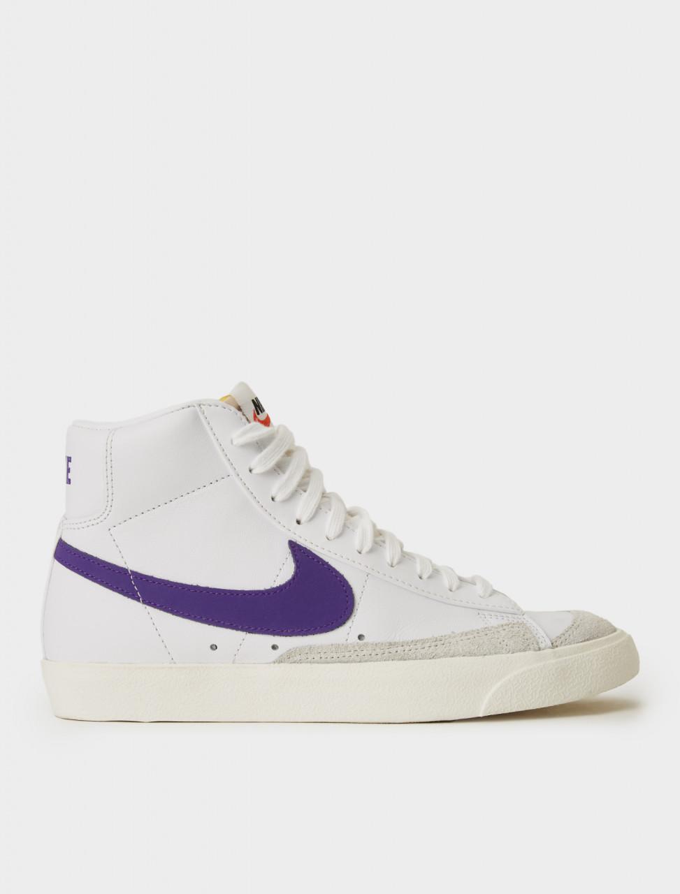 Nike WMNS Blazer Mid '77 Sneaker in Voltage Purple details