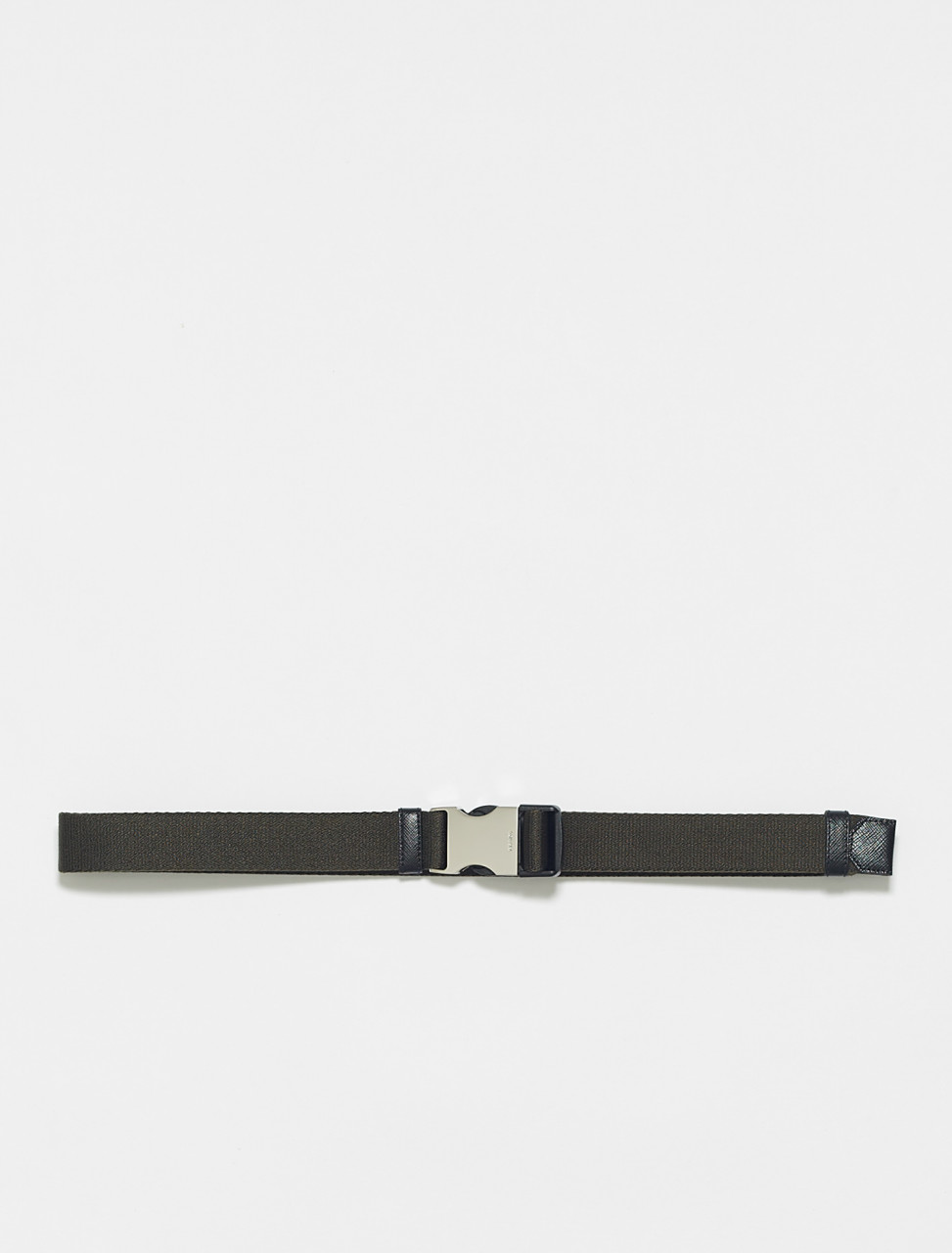 2CN059-F0334 PRADA WOVEN BELT IN MIMETIC
